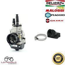 CARBURATORE DELL'ORTO PHBG 19 DS + COLLETTORE MALOSSI APRILIA SR 50 2T (PIAGGIO)