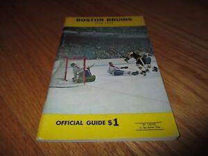 1968-69 BOSTON BRUINS Media Guide BOBBY ORR Phil Esposito GLEN SATHER Sanderson