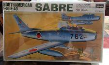 Hasegawa 1/32 North American F-86F-40 Sabre J.A.S.D.F. SEALED. FREE SHIPPING.