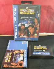 WWF Wrestlemania the Arcade Game Sega Mega Drive VGC
