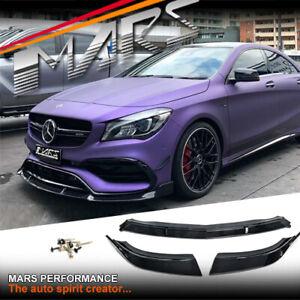 Brabus Style bumper Bar Lip for Mercedes-Benz C117 X117 CLA45 & AMG Pack 16-19