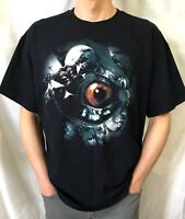 MESHUGGAH Swedish Audio Deviant Official T-Shirt(XL)OG 2009 New Prog Metal 11I