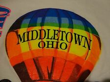 Vintage HOT AIR BALLOON 1992 Championship RAINBOW Screen Stars T Shirt sz Medium