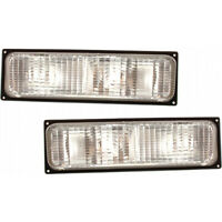 Fits 1988-1989 Chevy C1500 Parking/Signal Light Pair For GM2520103