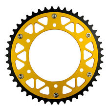 46T 520 Pitch Steel & Aluminum Rear Sprocket For Suzuki RM125 84-11 RM250 88-09