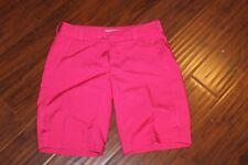 Nike Golf Tour Performance Dri Fit Fuschia Pink Shorts Ladies sz 4 (bin74)
