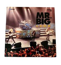 Mr. Big: Live LaserDisc~1992~Atlantic