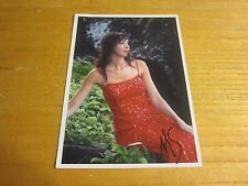 Angela Heather Smith Model Autographed Signed 5X7 Photograph
