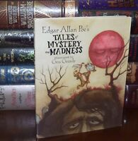 Tales of Mystery and Madness by Edgar Allan Poe New Illustrated Hardcover Gift