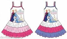 Sommerkleid Disney Eiskönigin Frozen Anna Elsa Olaf Kleid 92 98 104 110 116 128