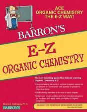 Barron's e-Z: E-Z Organic Chemistry by Bruce A. Hathaway (2011, Paperback)