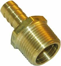 LASCO 17-7701 1/8-Inch Male Pipe Thread by 1/8-Inch Hose Barb Brass Adapter