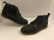 Mens Mark Nason Boots Chukka Size 10.5 Blue Lace Up Leather