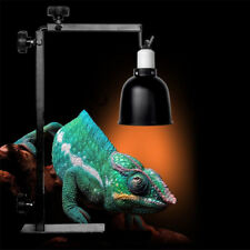 Adjustable Heat UV UVB Lamp Light Holder Bracket Stand for Reptile Chicken