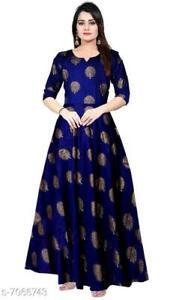 Women Kurta Kurti Indian Pakistani Bollywood Designer Long Tunic Dress Top New
