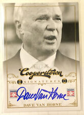 Dave Van Horne 2012 Panini Cooperstown Signatures on-card Auto #'d 5/500 - EXPOS