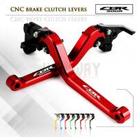 1 PAIR Long Adjustable Brake Clutch Levers Set for HONDA CBR500R/CB500F/X 13-16