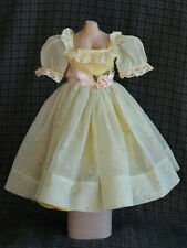 Tagged by Madame Alexander for 8/'/' Dolls Junior Miss Dress Hose /& SHoes