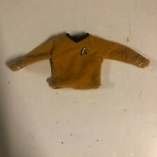 Vintage Star Trek Original Captain Kirk Yellow Mustard Shirt for Action Figure