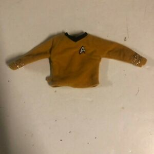 Vintage Star Trek Original Captain Kirk Yellow Mustard Shirt for Action Figure