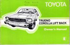 Toyota Trueno Corolla Lift Back 1976