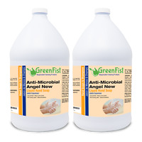 GreenFist Antimicrobial / Bacterial Lotion Liquid Hand Soap ( 2 x 1 Gallon )