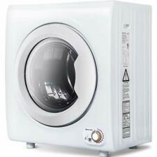 2.65 Cu.Ft Electric Compact Laundry Dryer Capacity Portable Clothes Dryer 9 LBS