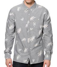 Mens Vans Off The Wall La Palma Long Sleeve Button Shirt Skate Christmas Gift