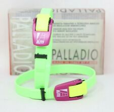 NOS VINTAGE 90S ELITE PALLADIO TOE CLIPS STRAPS QUILL PEDALS ROAD RACING BICYCLE