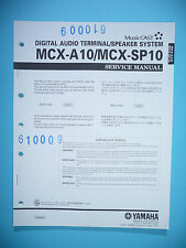 Service Manual-Anleitung für Yamaha MCX-A10/MCX-SP10,ORIGINAL