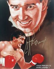 GERRY COONEY Signed 10x8 Photo HEAVYWEIGHT BOXING CHAMPION COA
