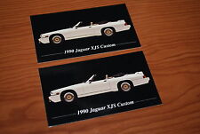 ★2-1990 JAGUAR XJS CONVERTIBLE CUSTOM PHOTO MAGNETS-TOOLBOX,FRIDGE-90 XJ S