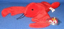 TY PINCHERS the LOBSTER BEANIE BABY - MINT with MINT TAGS