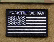 US Special Forces Afghanistan F*** THE TALIBAN Patch DEVGRU SEAL TEAM 6 CAG