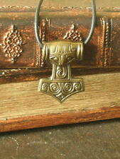 New! Medieval Renaissance Celtic Viking Thor Hammer Medal Pendant Amulet 2