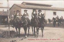 A1814) ROMA, PIEMONTE REALE CAVALLERIA, CAROSELLO STORICO DEL 21/3/1913.