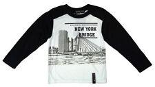 T-shirts, débardeurs et chemises noir à manches longues pour garçon de 14 ans