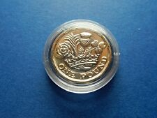 NEW 2016 One Pound Coin UNCIRCULATED £1 + Capsule Britain UK QE2 Royal Mint