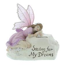 Fairy Money Box Saving For My Dreams Lilac Flexi Wings Engraved FOC  Julian58218