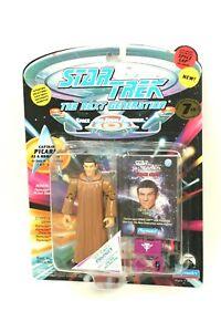 "NEW *Sealed* STAR TREK TNG Playmates 5"" Figure PICARD as Romulan Caps 7th Sn"