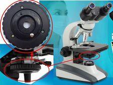 1-28mm Iris Diafragma rango de apertura 12 Blade continuamente variable F Microscopio