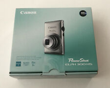 Open Box - Canon PowerShot ELPH 300 HS 12.1MP Camera - BLACK - 013803133585