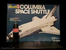 Huge Revell 1/72 Columbia Space Shuttle Over A Foot And A Half Long! W/Poster