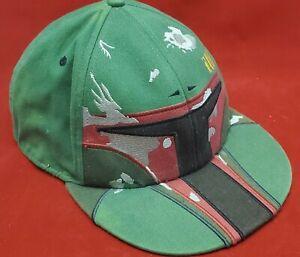 Boba Fett Fitted Tek-Flex Hat Size Mens Star Wars