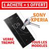 Verre Trempe Vitre Ecran Film Protection SONY XPERIA XA/2/ULTRA/X/XZ/L2/COMPACT
