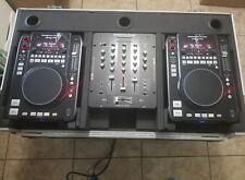 AMERICAN AUDIO RADIUS 1000 MIXER TURNTABLE SET AMP SPEAKERS DJ DEEJAY CD MP3 WOW