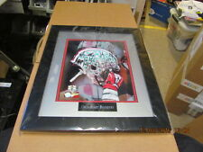 Ohio State Buckeyes Football Autographed by 5 Framed 8 X 10 with COA  SUPER NICE