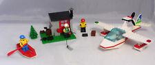 Lego 1817 Wasserflugzeug mit Fischerhütte Canadian Lake District komplett #13
