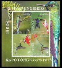 Rarotonga 2019 birds hummingbirds s/s MNH michel bl 5 95 euro