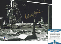 RICHARD EDLUND STAR WARS ILM VISUAL SFX ASC SIGNED 8x10 PHOTO 3 BECKETT BAS COA